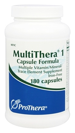 Buy Prothera Multithera 1 Capsule Formula 180 Vegetarian Capsules At Luckyvitamin Com