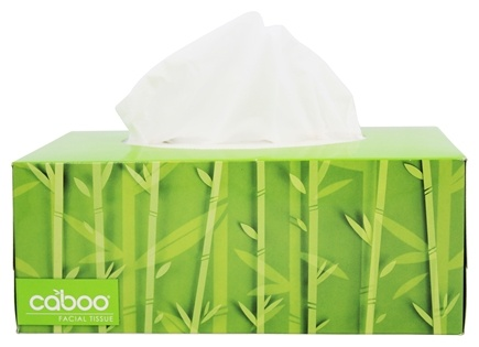 Buy Caboo - Bamboo and Sugarcane 2-Ply Facial Tissue - 184 Tissue(s ...