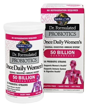 Buy Garden of Life Dr Formulated Probiotics Once Daily Womens