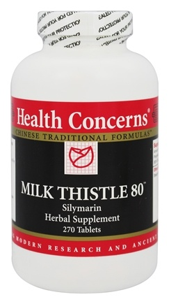 Health Concerns - Milk Thistle 80 - 270 Tablet(s)