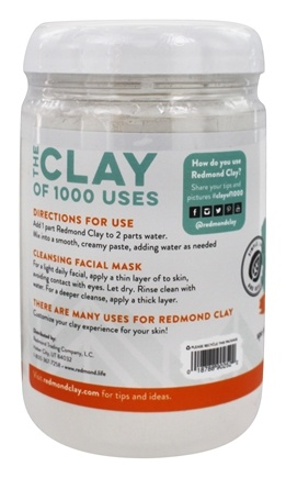 Amazingly Natural Bentonite Clay Facial Mask - 24 oz. by Redmond Trading (pack of 4) Joop! Set-Edt Spray 4.2 Oz & Aftershave 2.5 Oz By Joop!