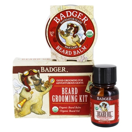 buy badger organic beard grooming kit at. Black Bedroom Furniture Sets. Home Design Ideas