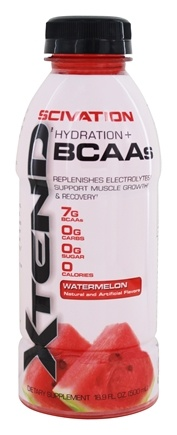 DROPPED: Scivation - Xtend RTD Hydration + BCAAs Watermelon - 16.9 fl. oz.