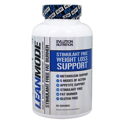 Evlution Nutrition - LeanMode Stimulant Free Weight Loss Support - 150 Capsules