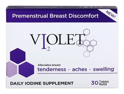 DROPPED: Violet - Premenstrual Breast Discomfort Daily Iodine - 30 Tablets
