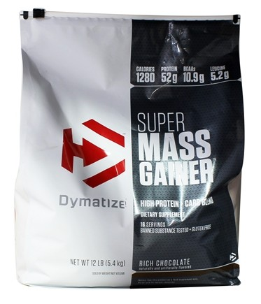 Dymatize Nutrition - Super Mass Gainer Rich Chocolate - 12 lbs.