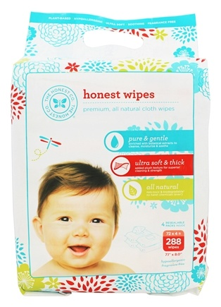 The Honest Company - Honest Wipes - 288 Wipe(s)
