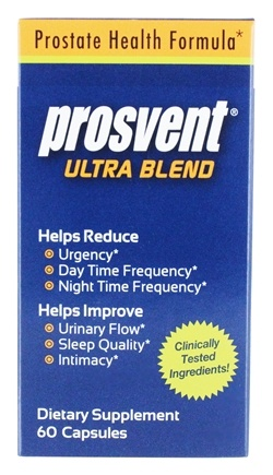 DROPPED: Thera Botanics - Prosvent Ultra Blend - 60 Capsules