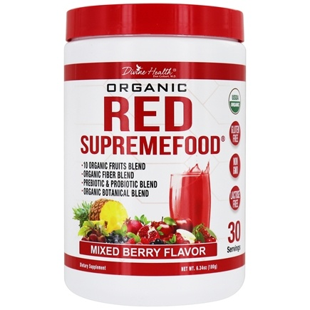 Divine Health - Organic Red Supremefood - 6.3 oz.