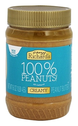 Crazy Richard's - All Natural Creamy Peanut Butter - 16 oz.