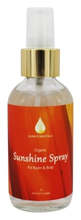 Quinntessentials - Organic Room & Body Spray Sunshine - 4 fl. oz.