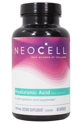 NeoCell - Hyaluronic Acid Double Strength 120 mg. - 60 Capsules