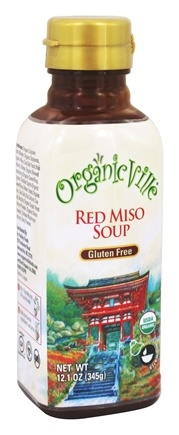 Organicville - Organic Red Miso Soup - 12.1 oz.