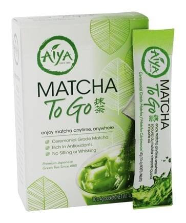 buy aiya matcha to go tea 10 stick s at. Black Bedroom Furniture Sets. Home Design Ideas