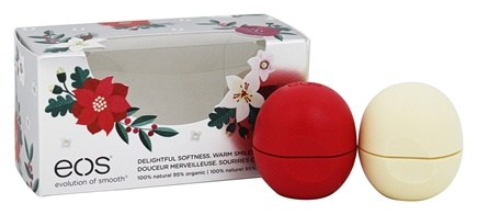 Eos Evolution of Smooth - Lip Balm Spheres White Berry & Vanilla Bean - 2 Pack