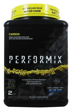 DROPPED: Performix - UNPUBLISHED Carbon Energy Sustaining Super Carb Blue Ice - 2 lbs.