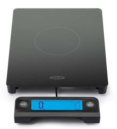 DROPPED: OXO - Good Grips 11 lb Glass Scale