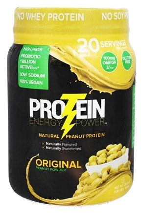 DROPPED: Protein Plus - Protein Energy Power Original - 1.81 lbs.