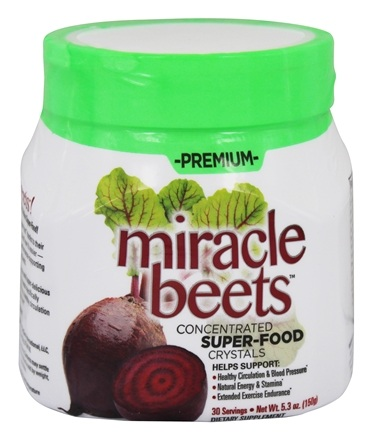 Thin Care International - Premium Miracle Beets 30 Servings - 5.3 oz.