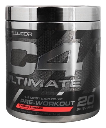 Cellucor - C4 Ultimate iD Series Pre-Workout 20 Servings Cherry Limeade - 380 Grams