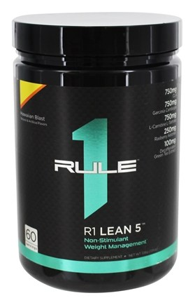 Rule One Proteins - R1 Lean 5 Non-Stimulant Weight Management 60 Servings Hawaiian Blast - 336 Grams