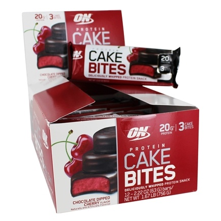 Buy Optimum Nutrition - Protein Cake Bites Chocolate ...