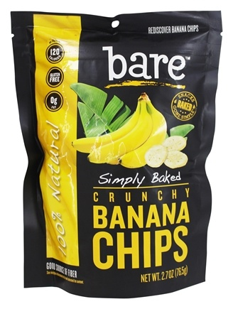 Buy Bare Fruit Crunchy Banana Chips Simply Baked 2 7