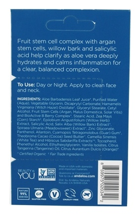Argan Stem Cell Recovery Cream Pod by andalou naturals #7