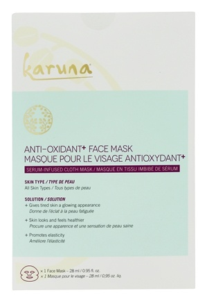 Brightening Face Sheet Mask - 1 Count by Karuna (PACK OF 1) FarmHouse Fresh Will Dew - Probiotic Mask - NEW! (3 oz/3.25 oz)