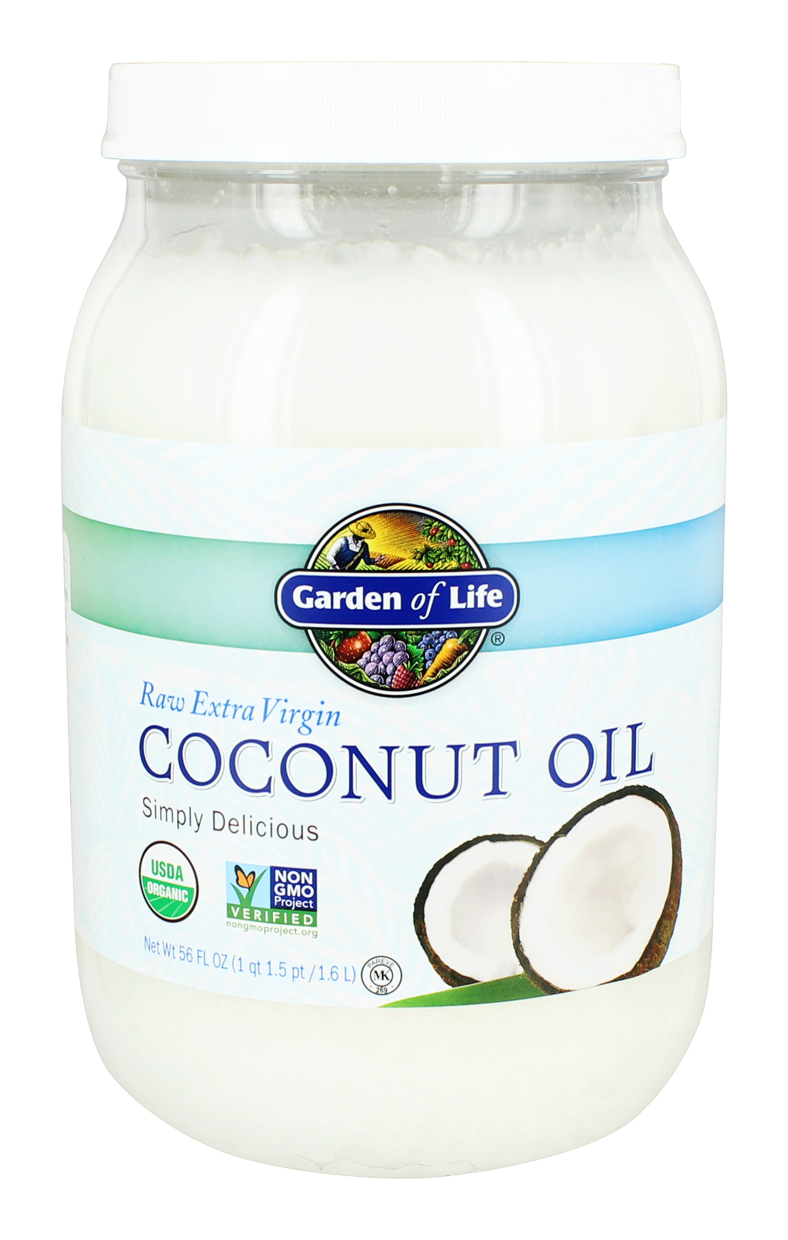 Garden of Life - Raw Extra Virgin Organic Coconut Oil - 56 fl. oz.