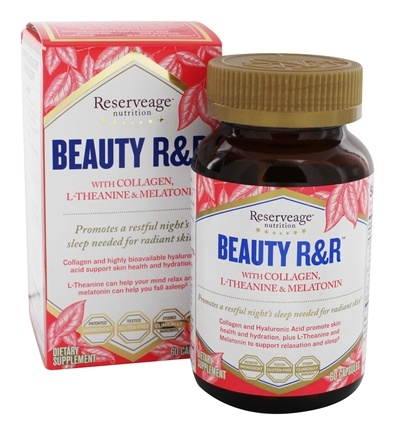 Reserveage Nutrition - Beauty R&R Formula - 60 Capsules