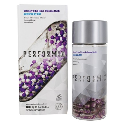 DROPPED: Performix - Women's 8-Hour Time-Release Multi Powered By SST - 60 Liquid Capsules