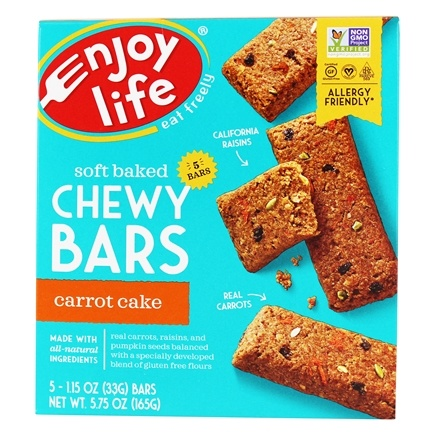 Buy Enjoy Life Foods Soft Baked Chewy Bars Carrot Cake