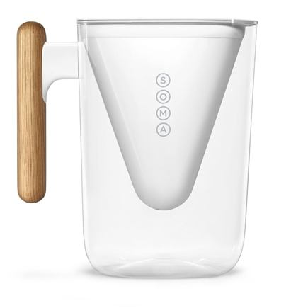 Buy Soma Water Filter Pitcher White 6 Cup S At