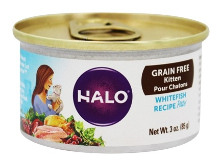 buy halo purely for pets halo holistic grain free kitten canned