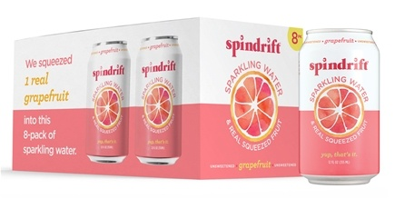 Spindrift - Sparkling Water Grapefruit - 8 Can(s)