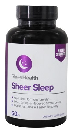 DROPPED: Sheer Strength Labs - Sheer Sleep Support - 60 Capsules