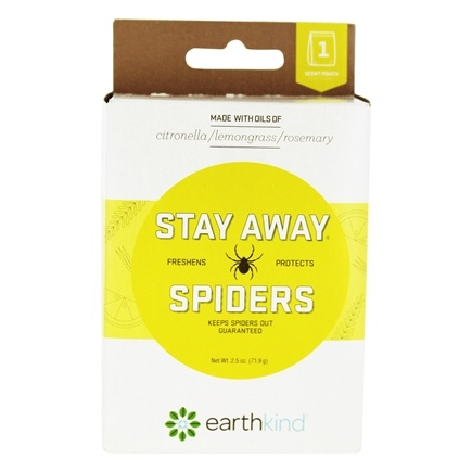 Stay Away Spiders Essential Oil Insect Repellent Pouch - 2 5 oz Earth Kind