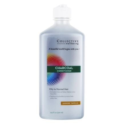 Charcoal Conditioner for Oily to Normal Hair Jasmine Vanilla - 14 5 fl   oz Collective Wellbeing