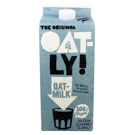 DROPPED: Oatly - Oat-Milk 100% Vegan Drink Original - 64 fl. oz.