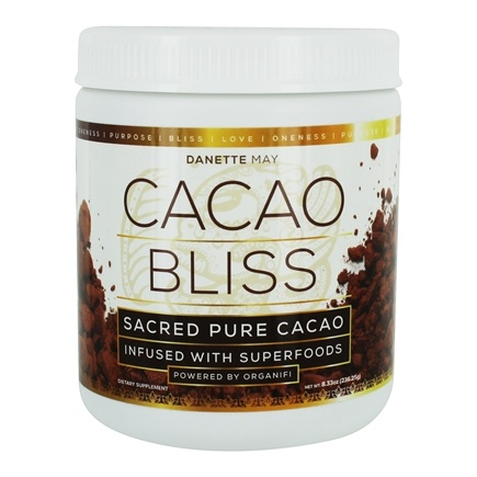 DROPPED: Organifi - Cacao Bliss Sacred Pure Cacao Powder Infused With Superfoods - 8.33 oz.
