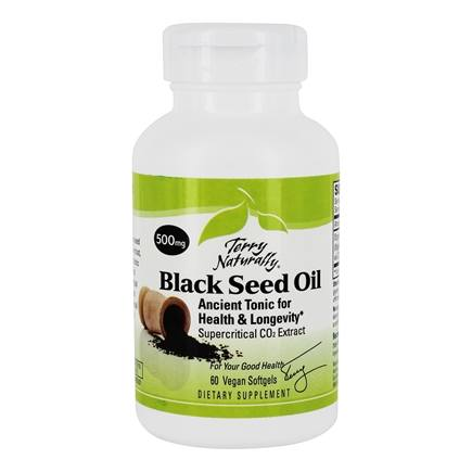 EuroPharma - Terry Naturally Black Seed Oil 500 mg. - 60 Vegan Softgel(s)