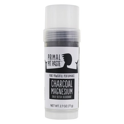 DROPPED: Primal Pit Paste - Daily Detox Deodorant Stick Charcoal Magnesium - 2.7 oz.