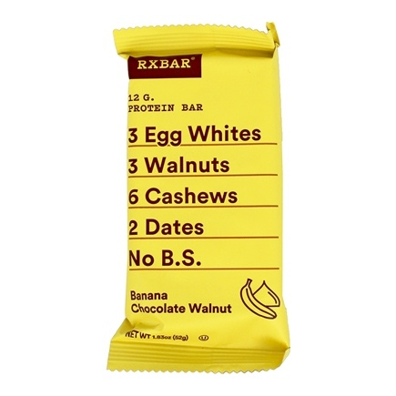 RXBAR - Protein Bar Banana Chocolate Walnut - 1.83 oz.