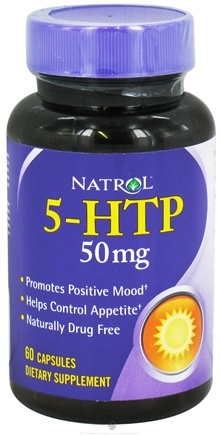 DROPPED: Natrol - 5-HTP 50 mg. - 60 Capsules