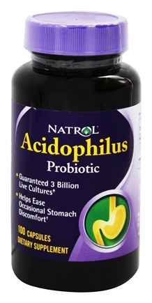 DROPPED: Natrol - Acidophilus 100 mg. - 100 Capsules