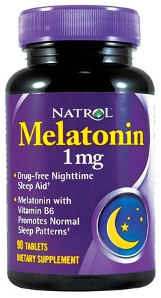 DROPPED: Natrol - Melatonin 1 mg. - 90 Tablets CLEARANCE PRICED