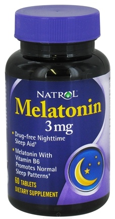 DROPPED: Natrol - Melatonin 3 mg. - 60 Tablets CLEARANCE PRICED