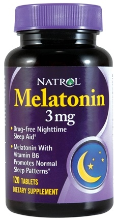 DROPPED: Natrol - Melatonin 3 mg. - 120 Tablets CLEARANCE PRICED