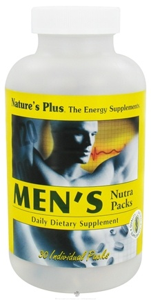 Zoom View - Men's Nutra Pack Tablets/Softgels